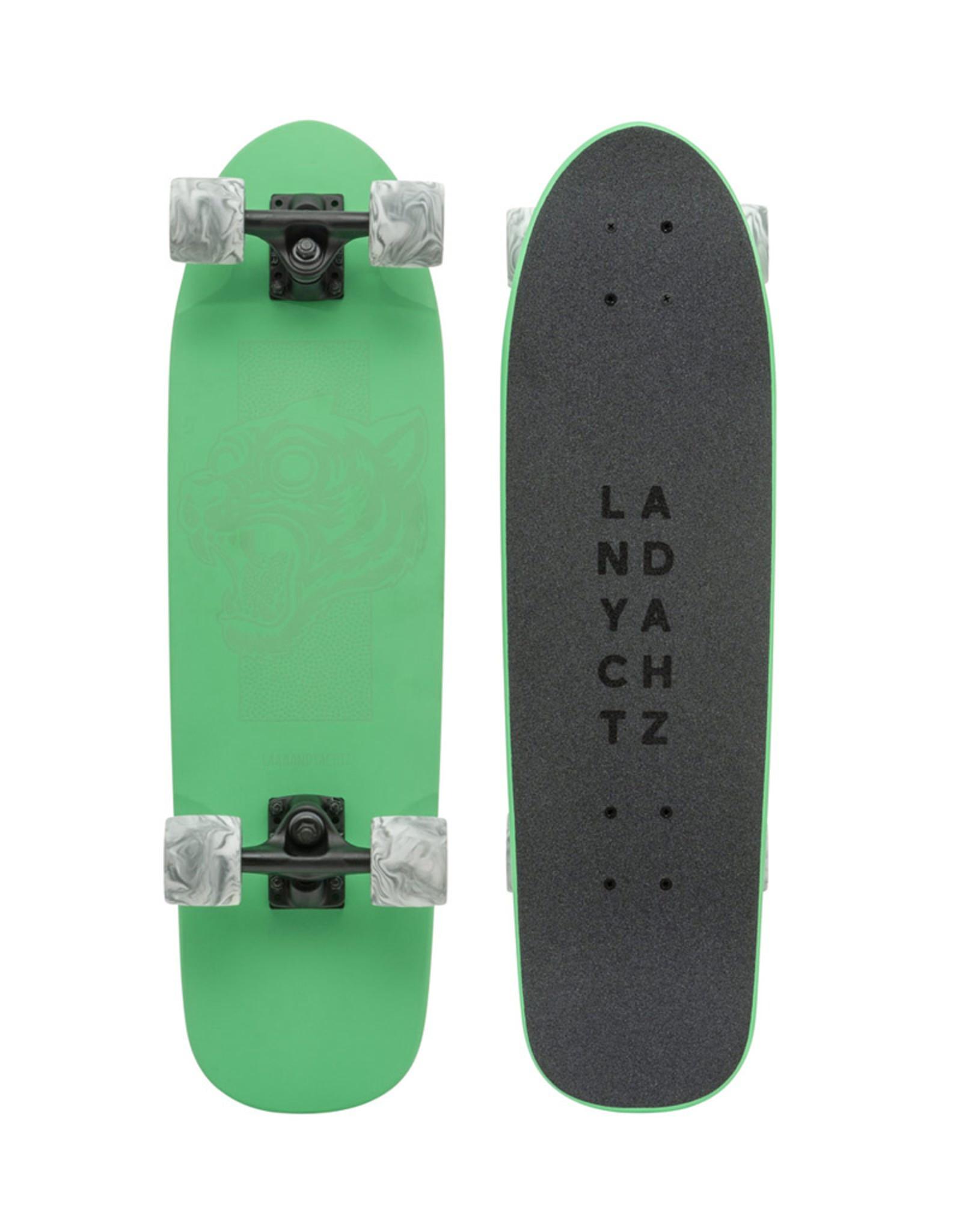 "Landyachtz Landyachtz Dinghy 28.5"" Green Tiger Complete"