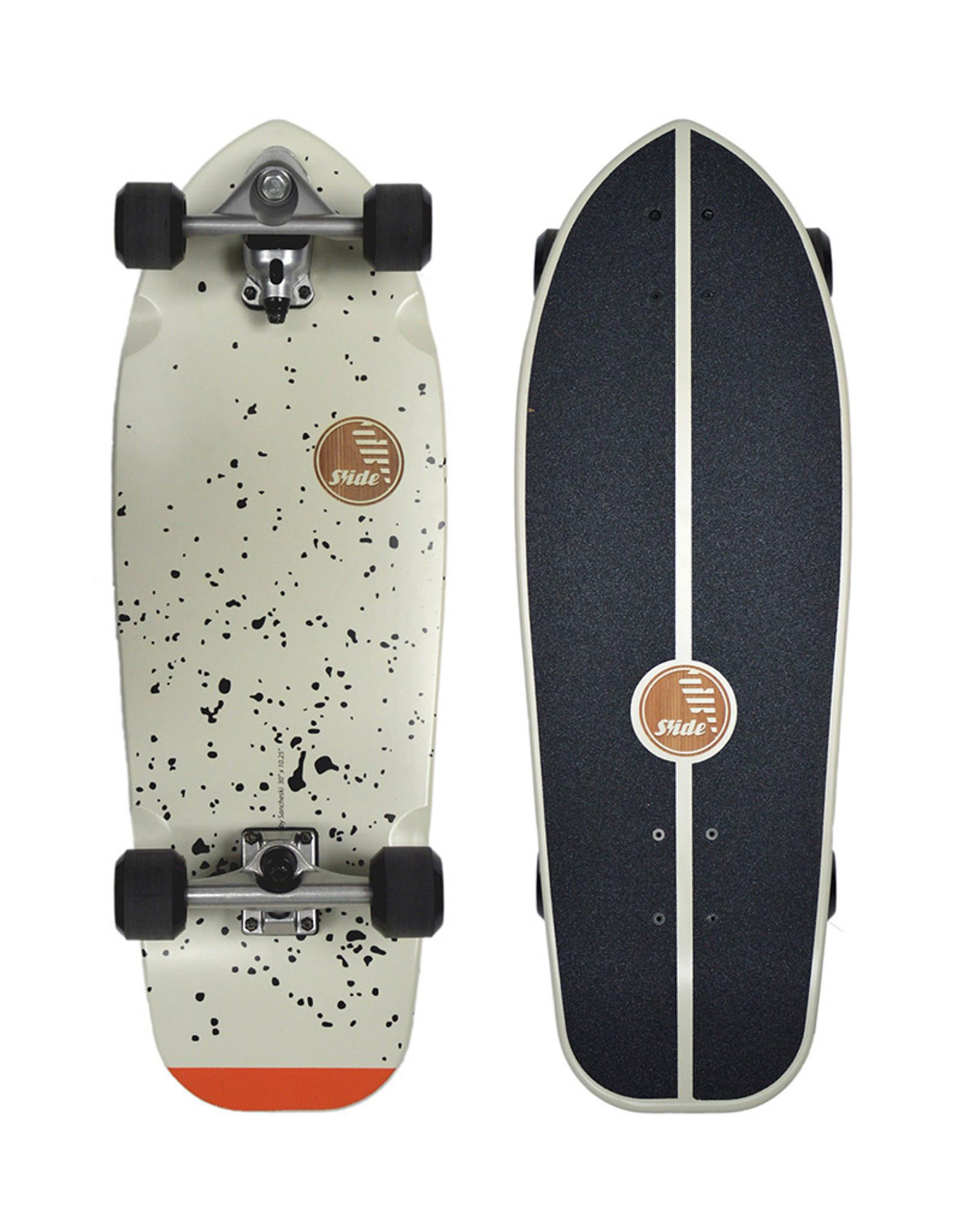 """Slide Surfskates Slide Joy Splatter 30"""" Surfskate Komplettbrett"""
