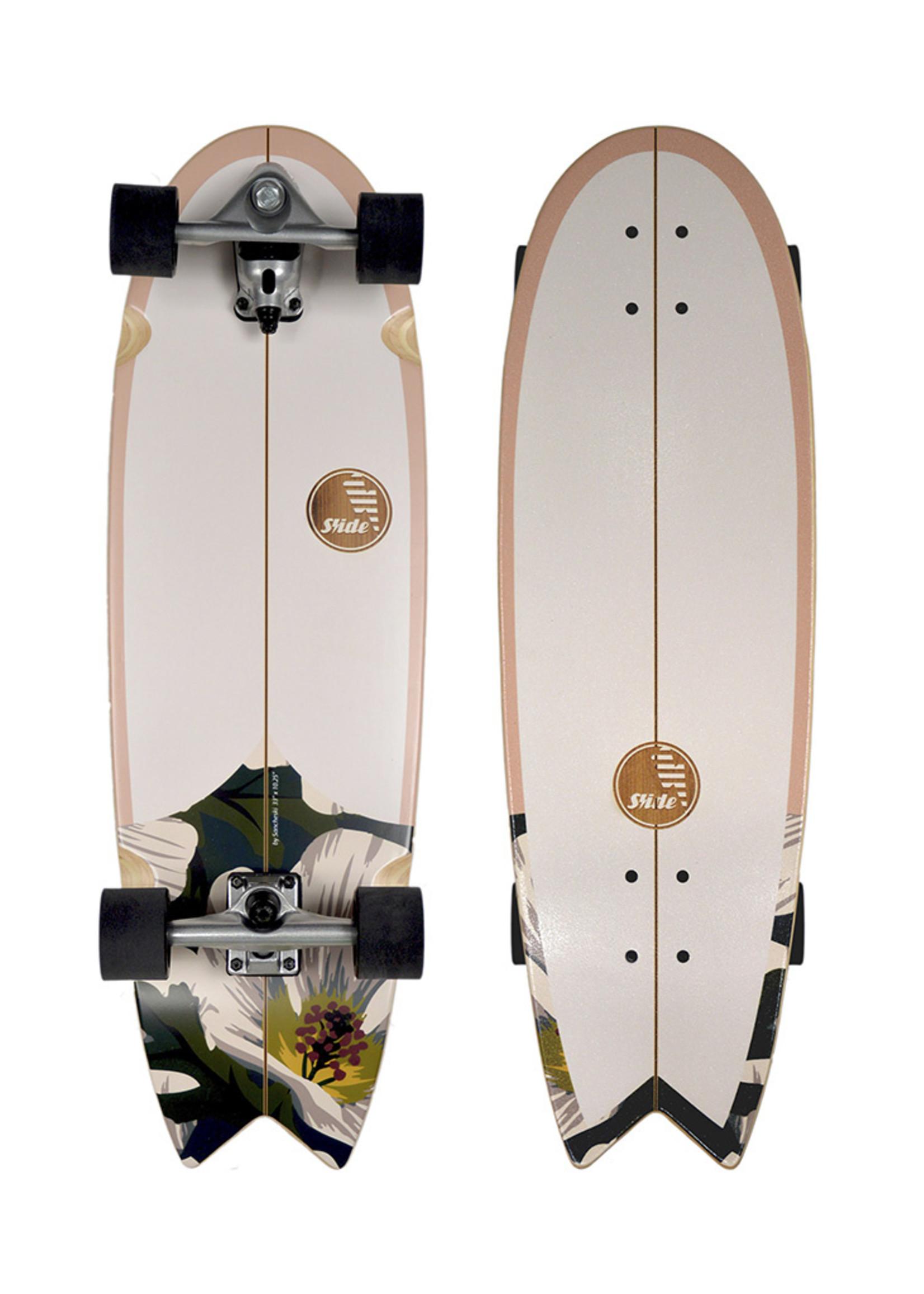 """Slide Surfskates Slide Swallow Wahine 33"""" Surfskate Komplettbrett"""