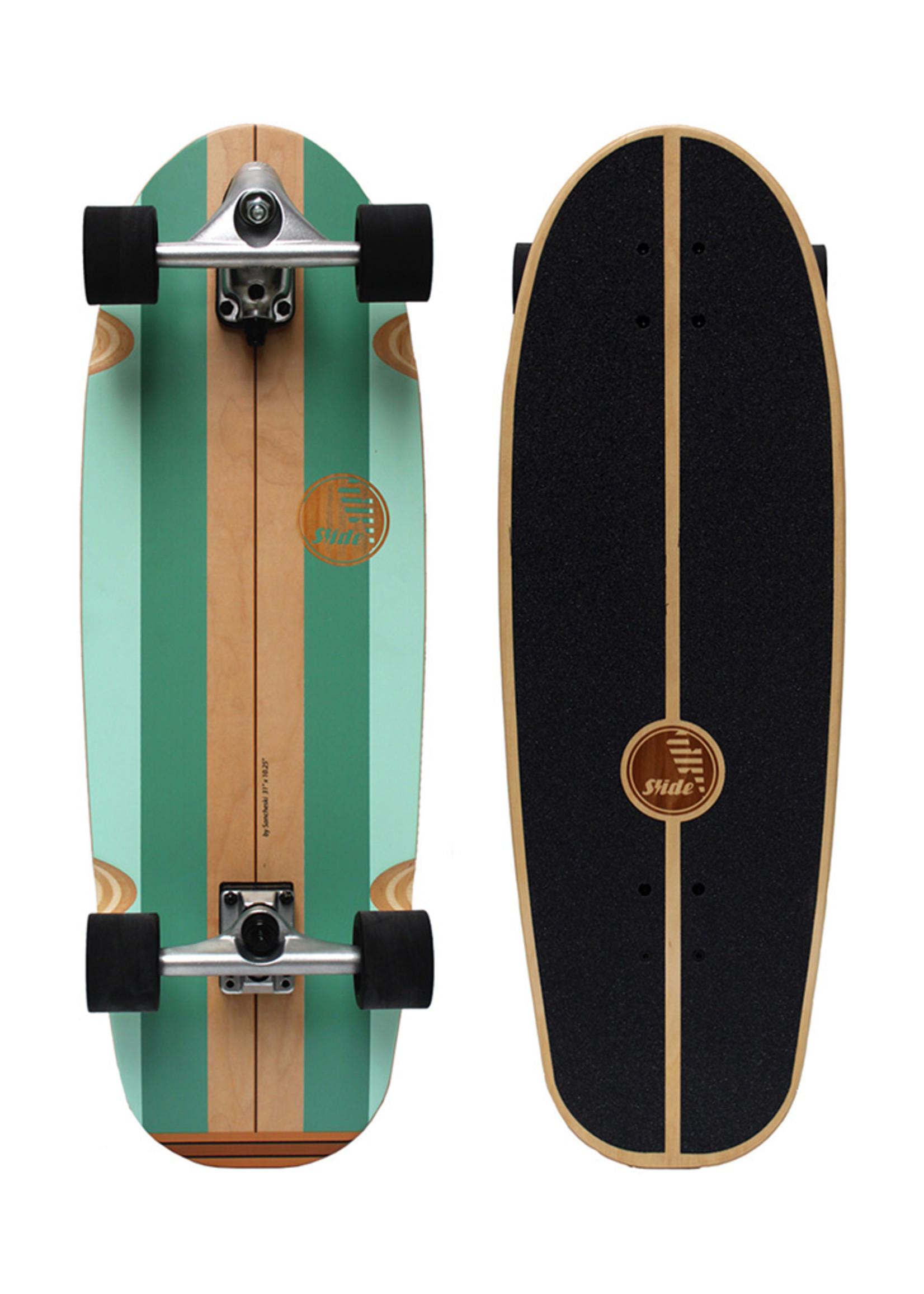 "Slide Surfskates Slide Gussie Avalanche 31"" Surfskate Complete"