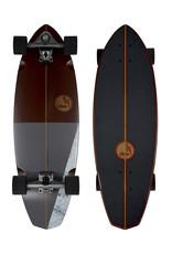 """Slide Surfskates Slide Diamond Koa 32"""" Surfskate Complete"""