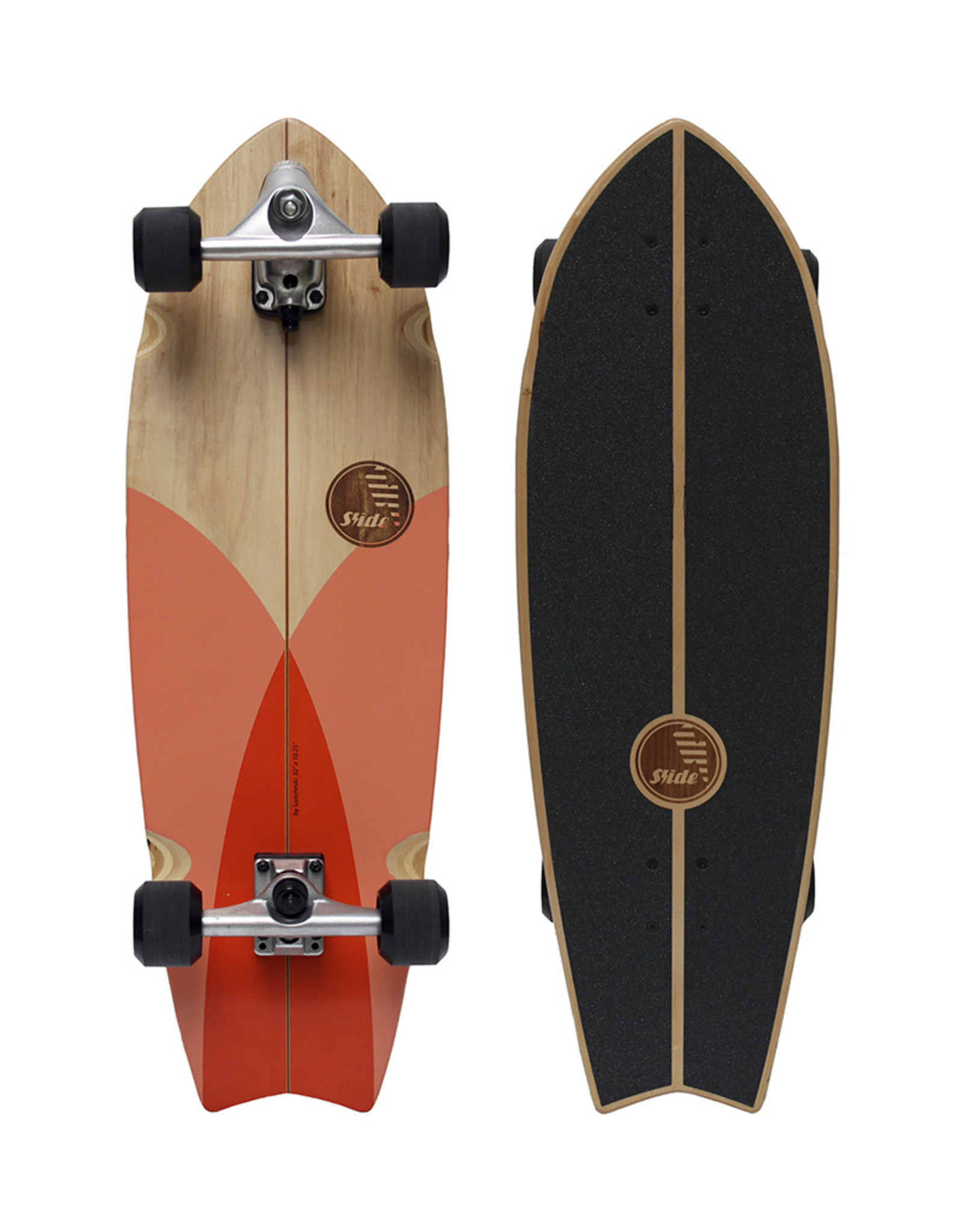 "Slide Surfskates Slide Fish Tuna 32"" Surfskate Komplettbrett"