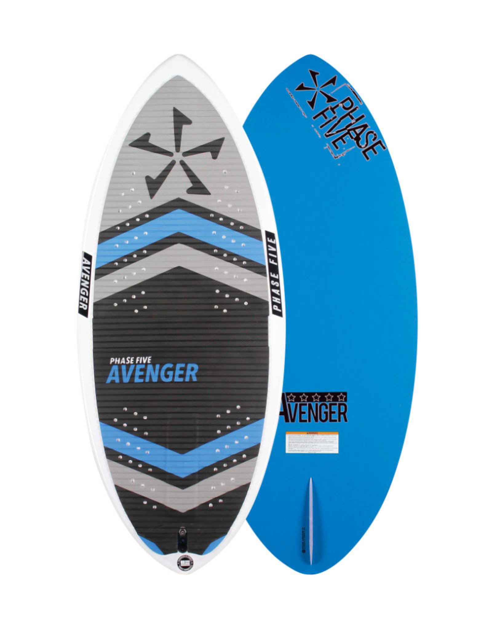 """Phase Five Phase Five Avenger 48"""" Skim-Style Wakesurf"""