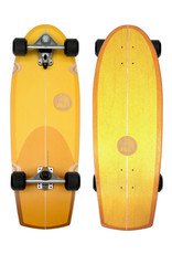 "Slide Surfskates Slide Quad Sunset 30"" Surfskate Complete"