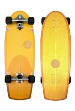 """Slide Surfskates Slide Sunset Quad 30"""" Surfskate Komplettbrett"""