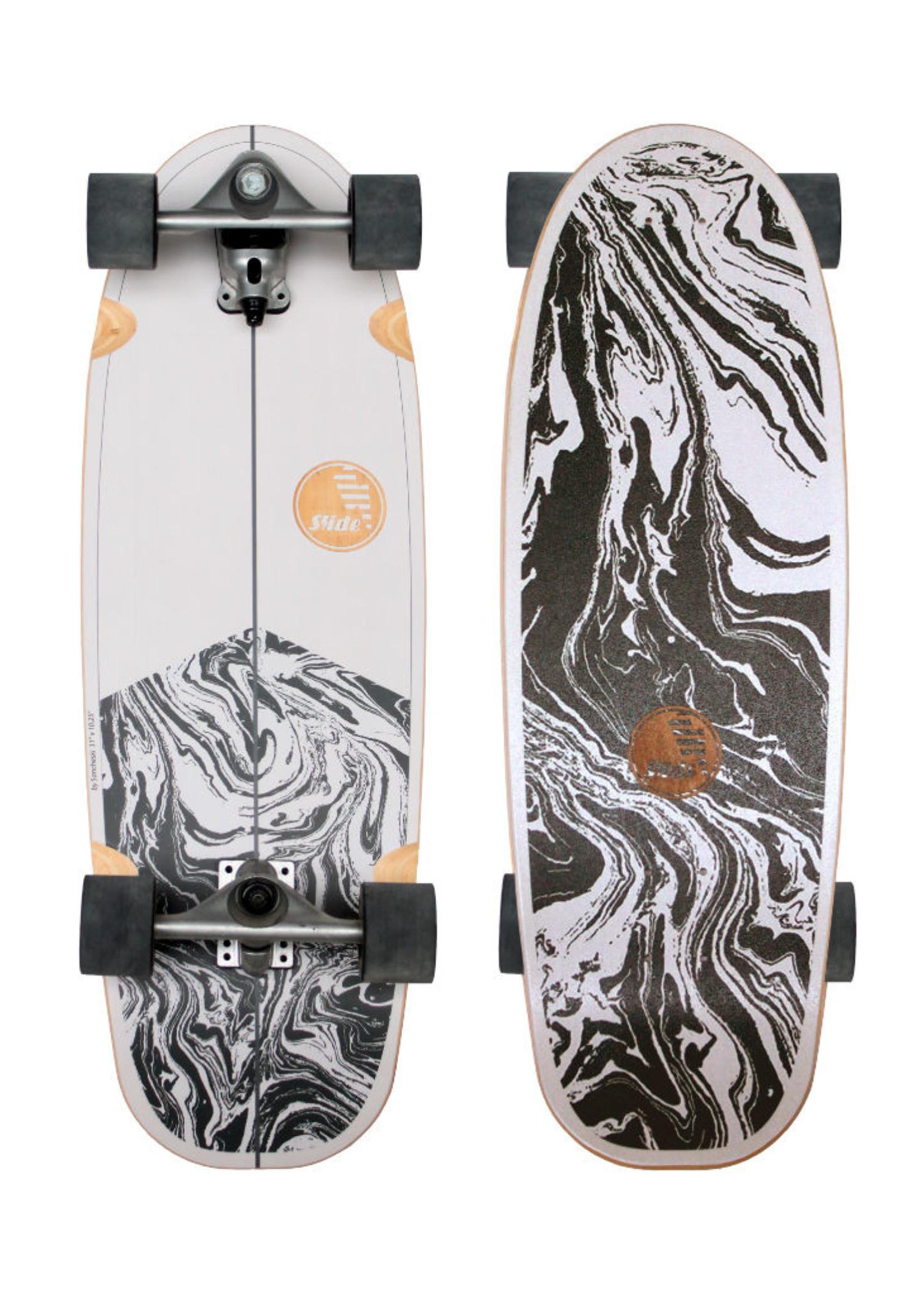 """Slide Surfskates Slide Gussie Stingray 31"""" Surfskate Komplettbrett"""