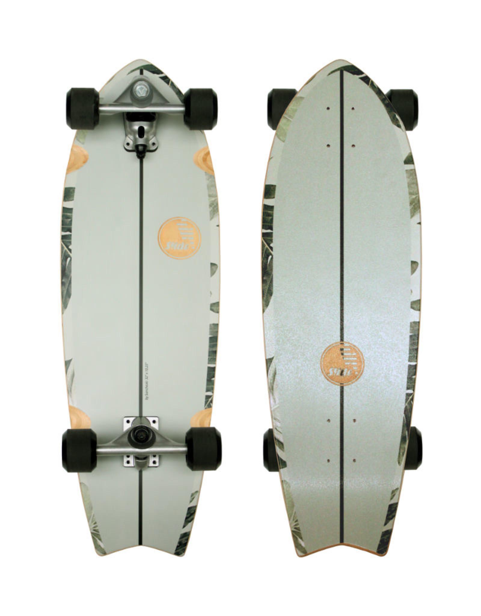 """Slide Surfskates Slide Fish Pavones 32"""" Surfskate Complete"""