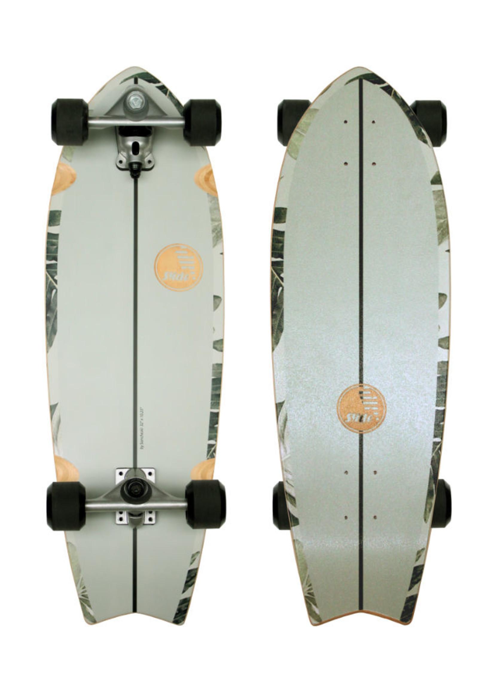"""Slide Surfskates Slide Fish Pavones 32"""" Surfskate Komplettbrett"""