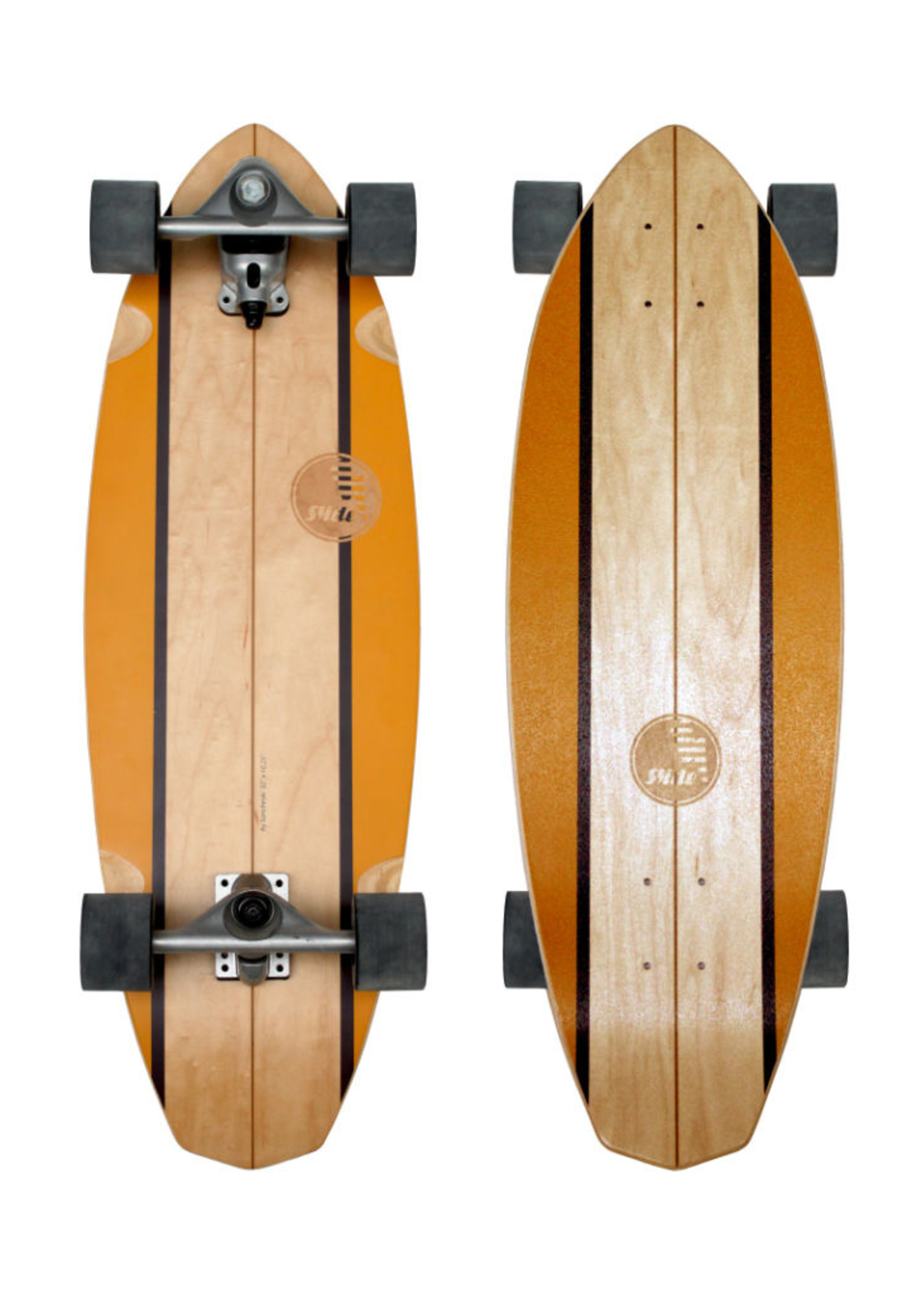 "Slide Surfskates Slide Diamond Waimea 32"" Surfskate Complete"