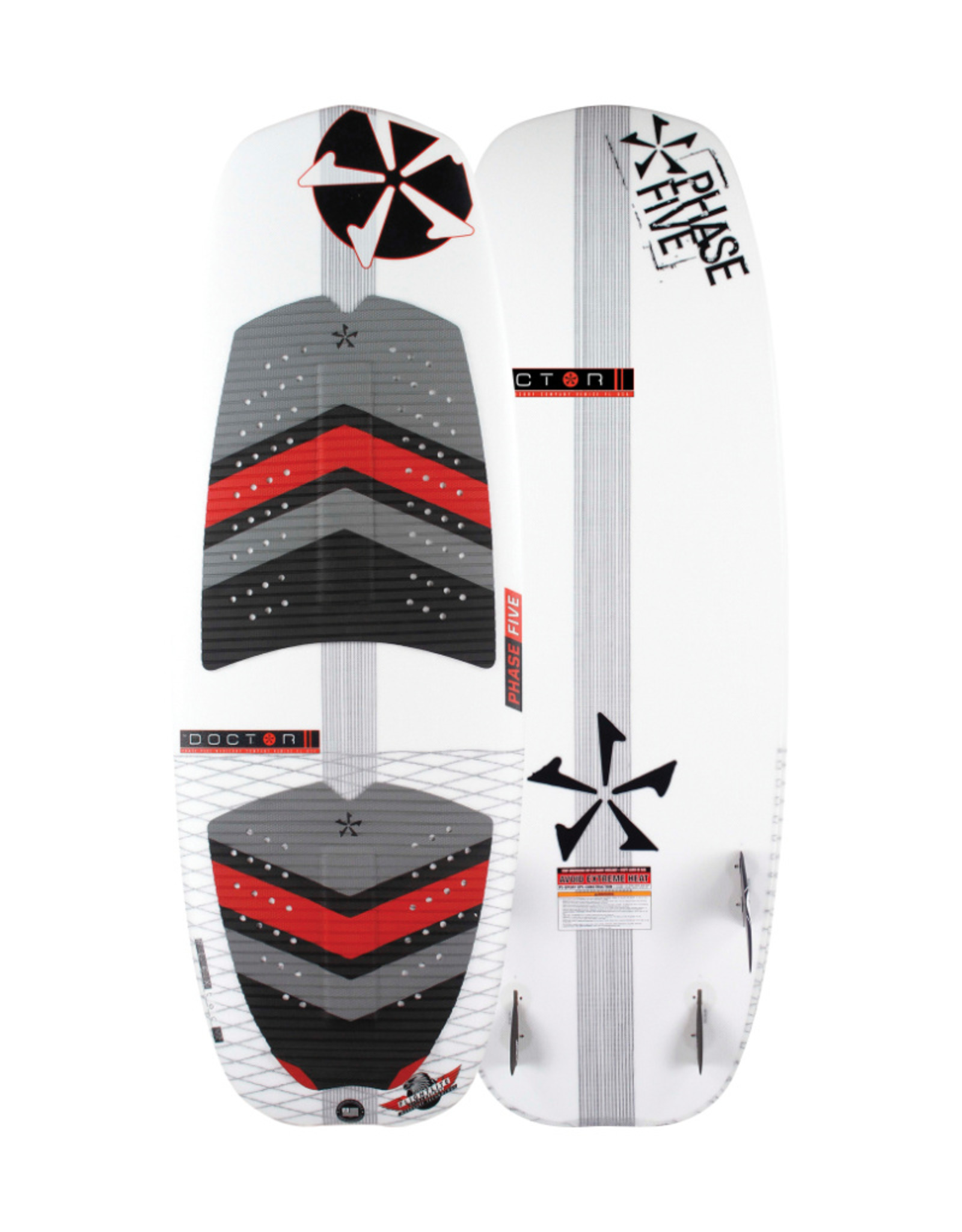 """Phase Five Phase Five Doctor 57"""" Surf-Style Wakesurf"""