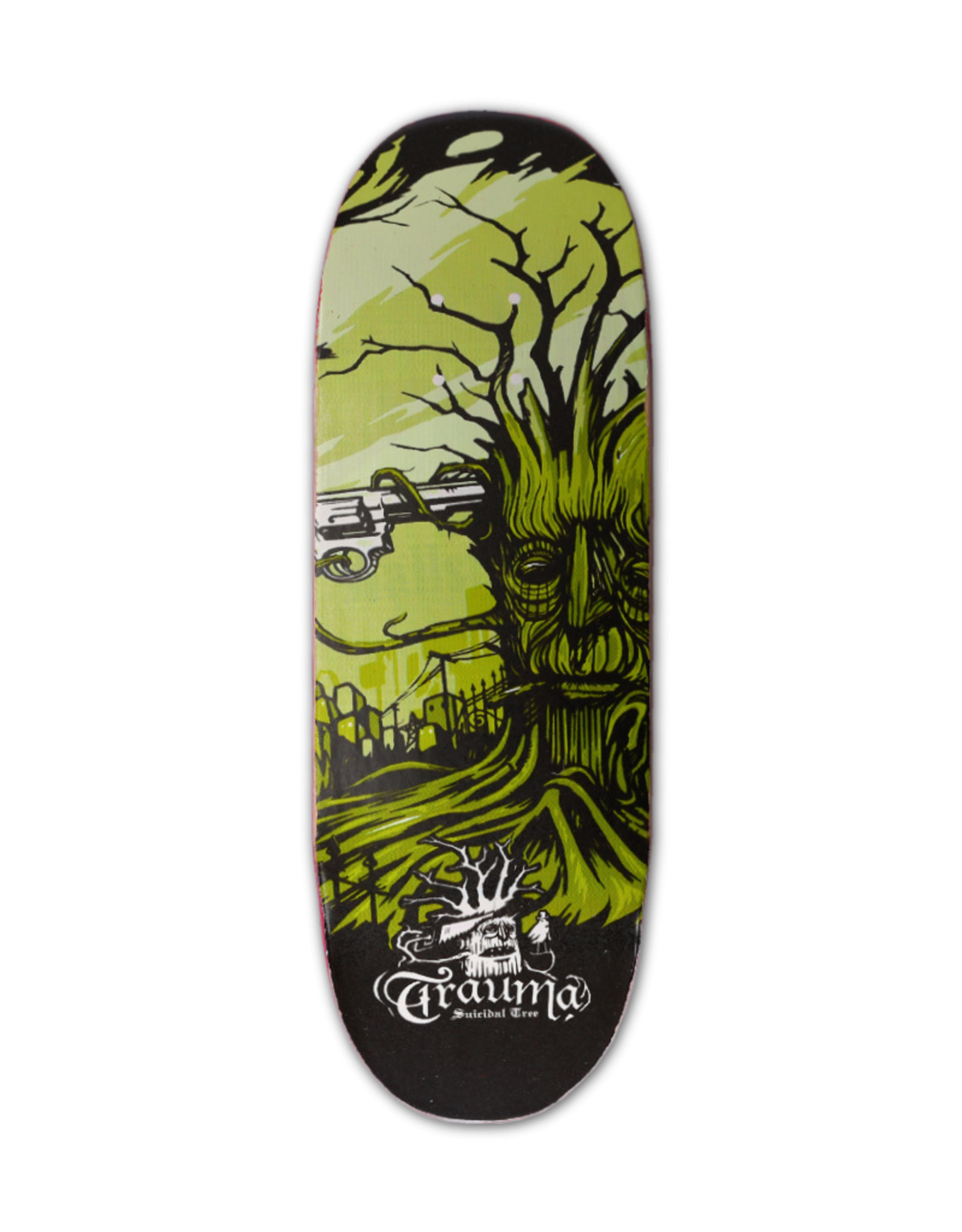 Close Up Fingerboards Close Up Trauma Suicidal Tree 34 mm Generation 5.1 Fingerboard Bausatz