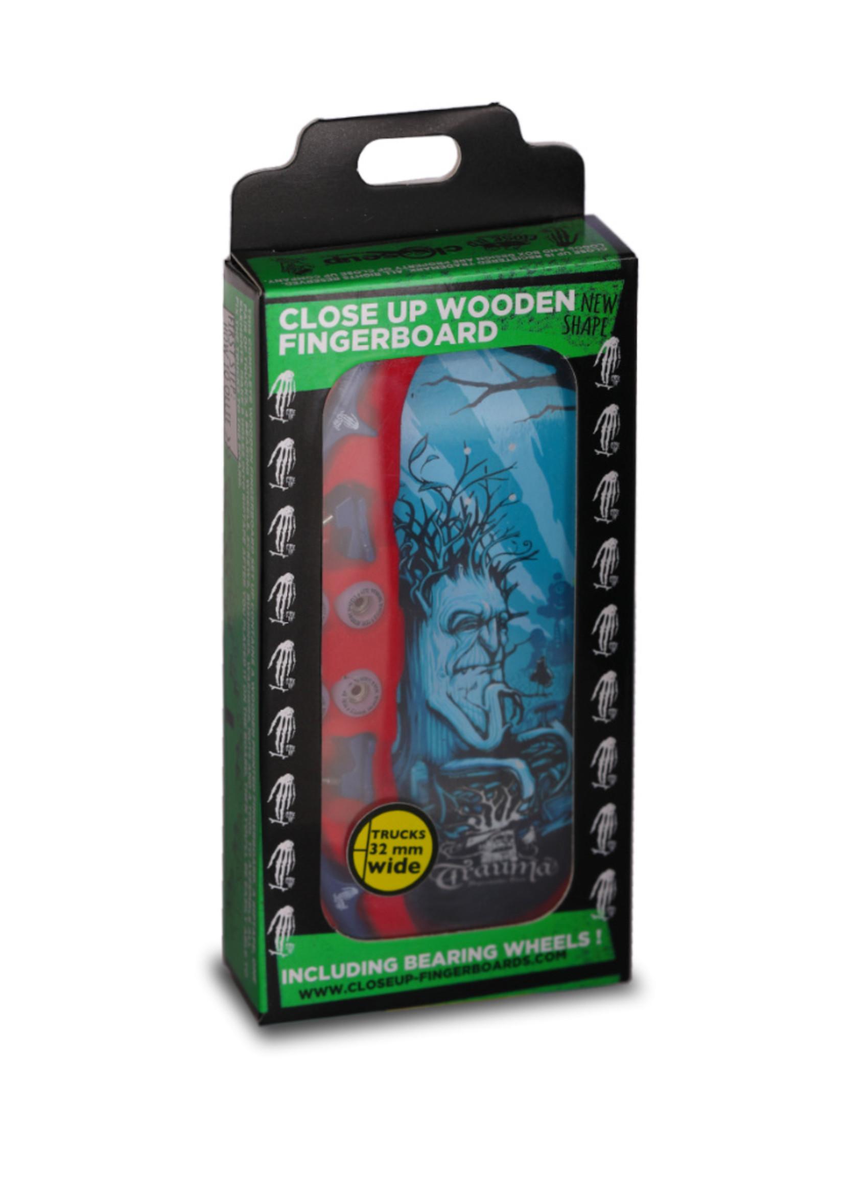 Close Up Fingerboards Close Up Trauma Depressive Tree 34 mm Generation 5.1 Fingerboard Setup