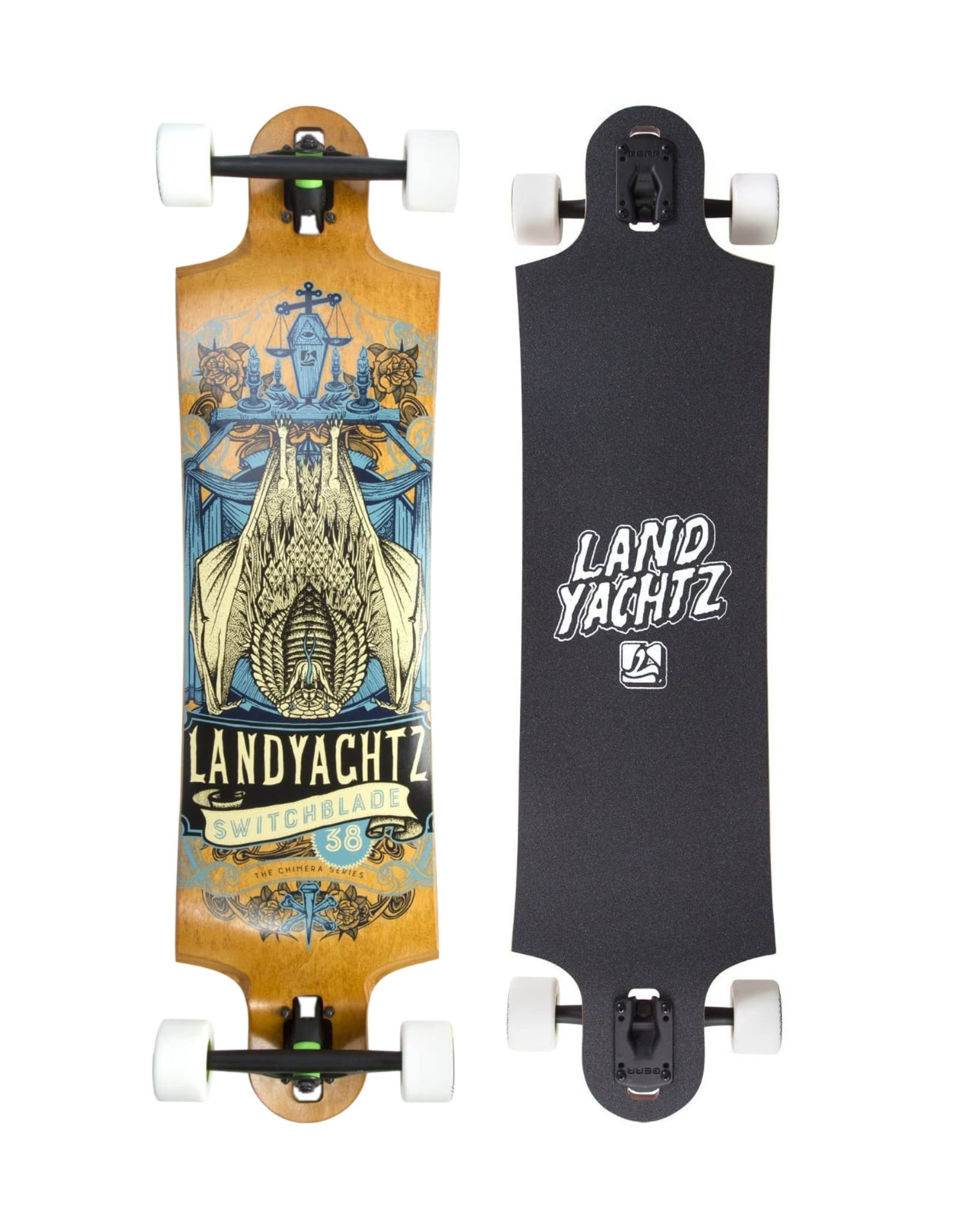 "Landyachtz Landyachtz Switchblade 38"" Maple Cobra Bat Complete"