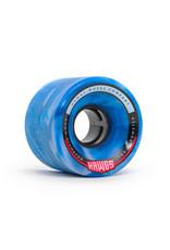 Hawgs Wheels Hawgs Chubby Rollen 60 mm 78A Blue/White Swirl 4er-Set