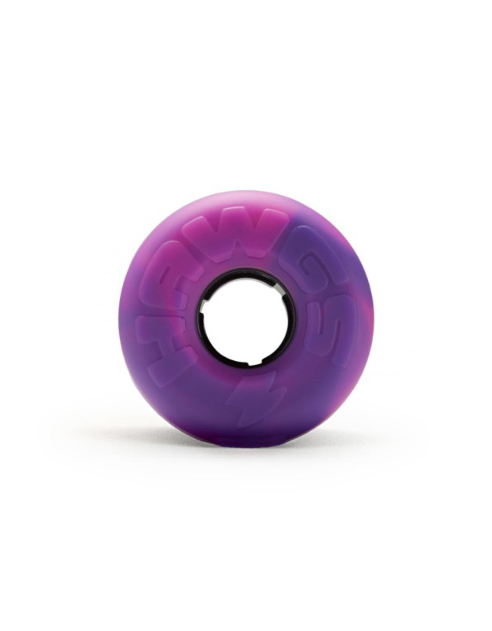 Hawgs Wheels Hawgs Lil' EZ Wheels 60 mm 78A Pink/Purple Swirl Set of 4