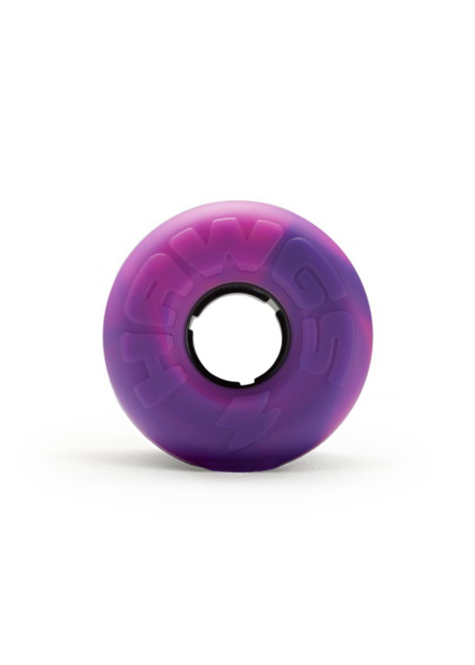 Hawgs Wheels Hawgs Lil' EZ Rollen 60 mm 78A Pink/Purple Swirl 4er-Set