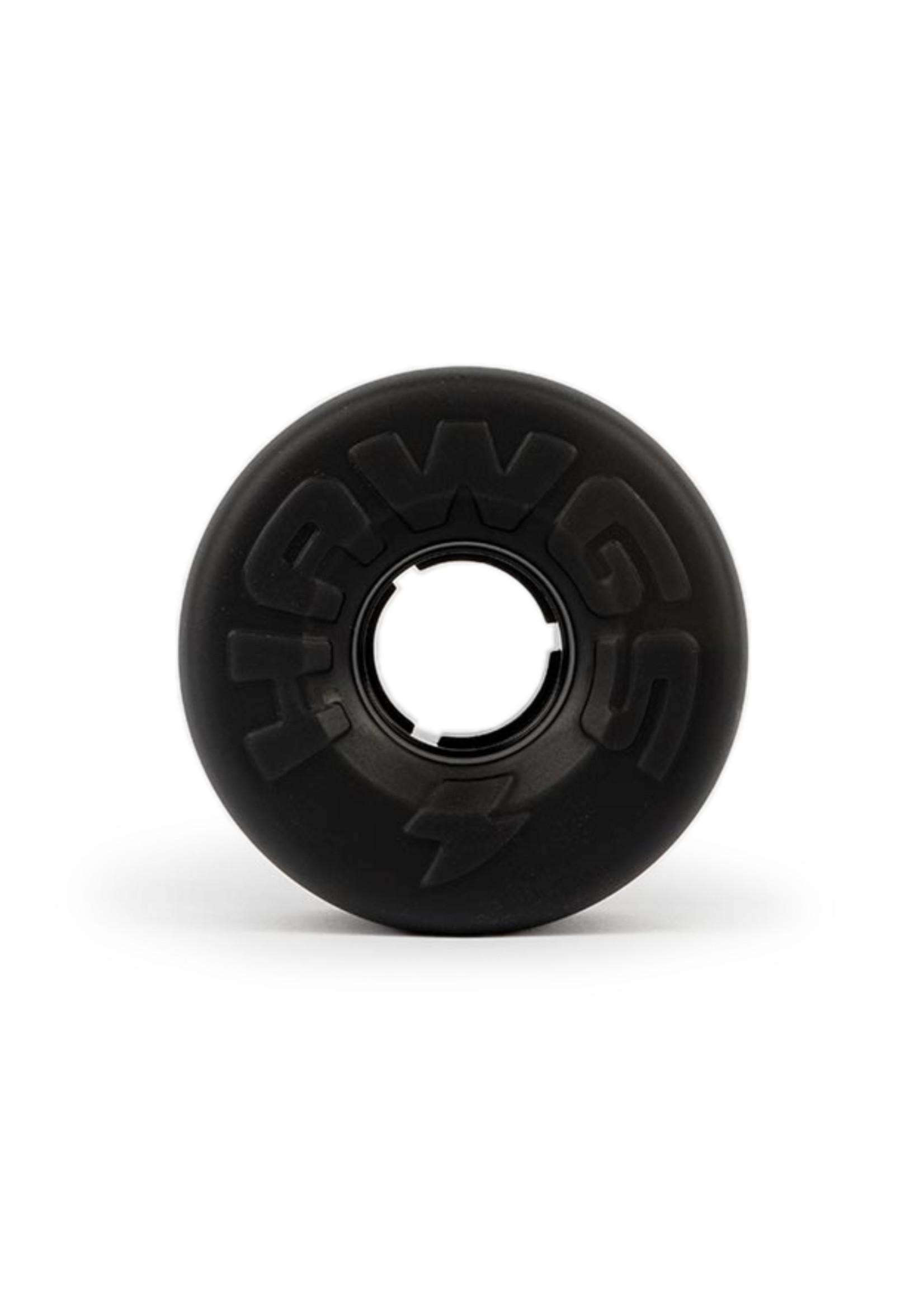 Hawgs Wheels Hawgs Easy Wheels 63 mm 78A Black Set of 4