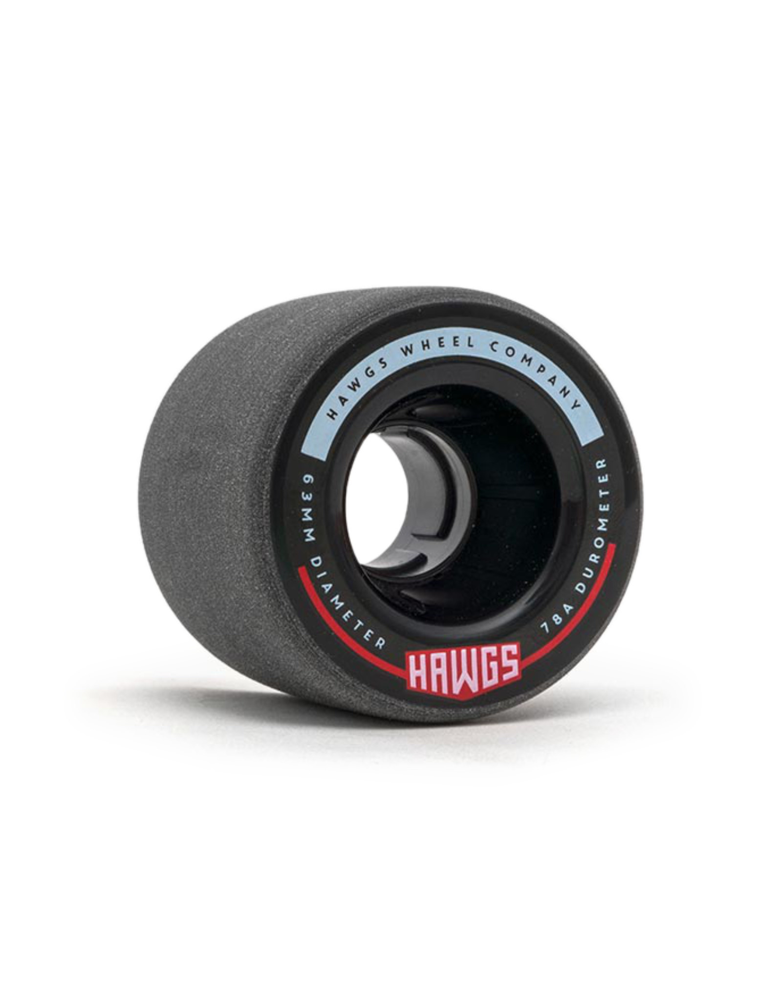 Hawgs Wheels Hawgs Fatty Wheels 63 mm 78A Black Set of 4