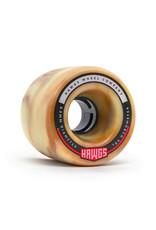 Hawgs Wheels Hawgs Fatty Wheels 63 mm 78A Mocha Swirl Set of 4