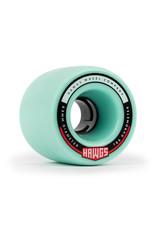 Hawgs Wheels Hawgs Fatty Rollen 63 mm 78A Ocean Teal 4er-Set