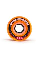 Hawgs Wheels Hawgs Fatty Wheels 63 mm 78A Orange/Yellow Swirl Set of 4