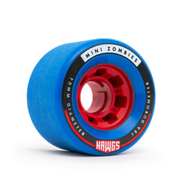 Hawgs Wheels Mini Zombie Blue