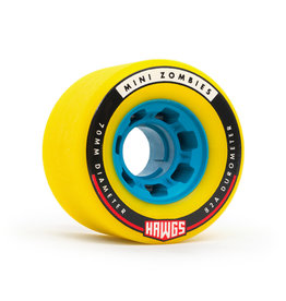 Hawgs Wheels Mini Zombie Yellow