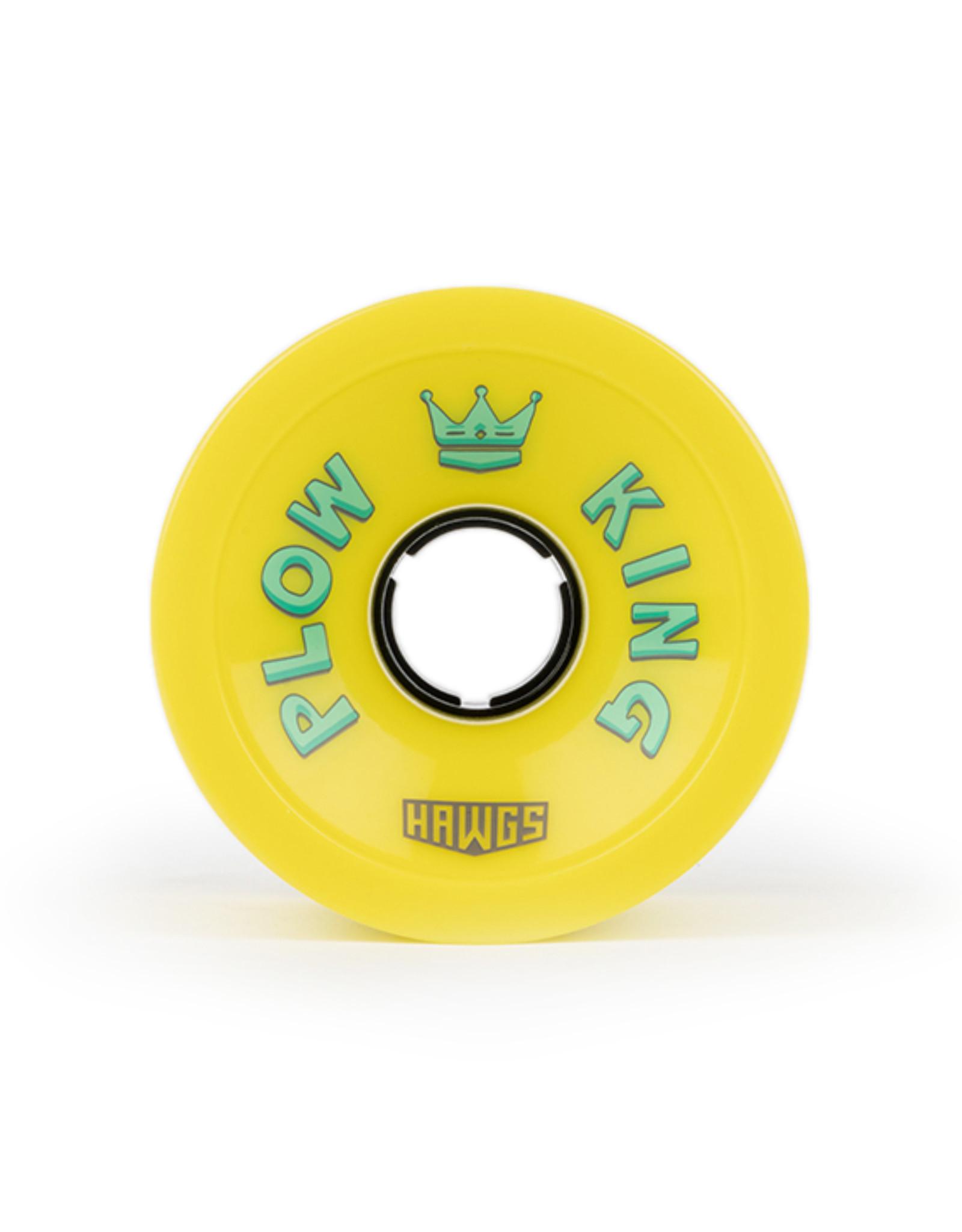 Hawgs Wheels Hawgs Plow King Rollen 76 mm 78A Flat Banana 4er-Set