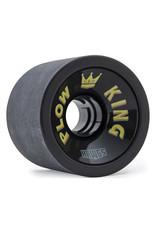 Hawgs Wheels Hawgs Plow King Rollen 76 mm 78A Black Set of 4