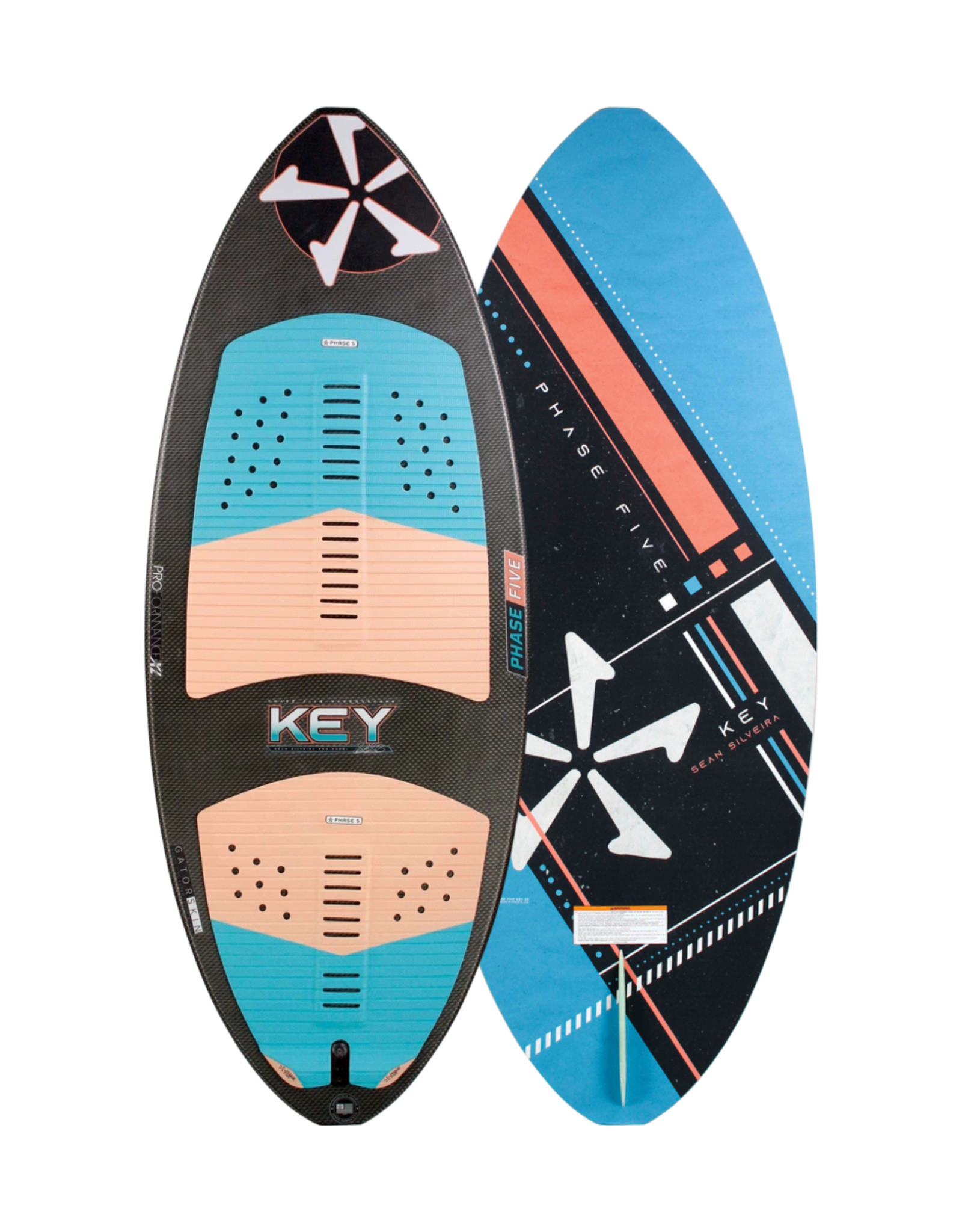 "Phase Five Phase Five Key 55"" Skim Style Wakesurf"