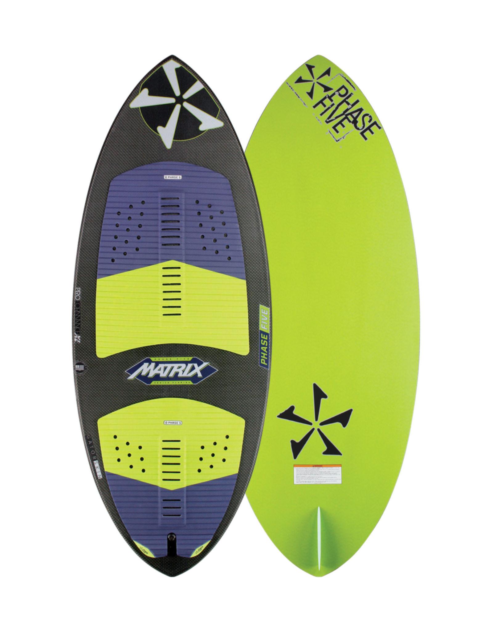 "Phase Five Phase Five Matrix 53"" Skim-Style Wakesurf"