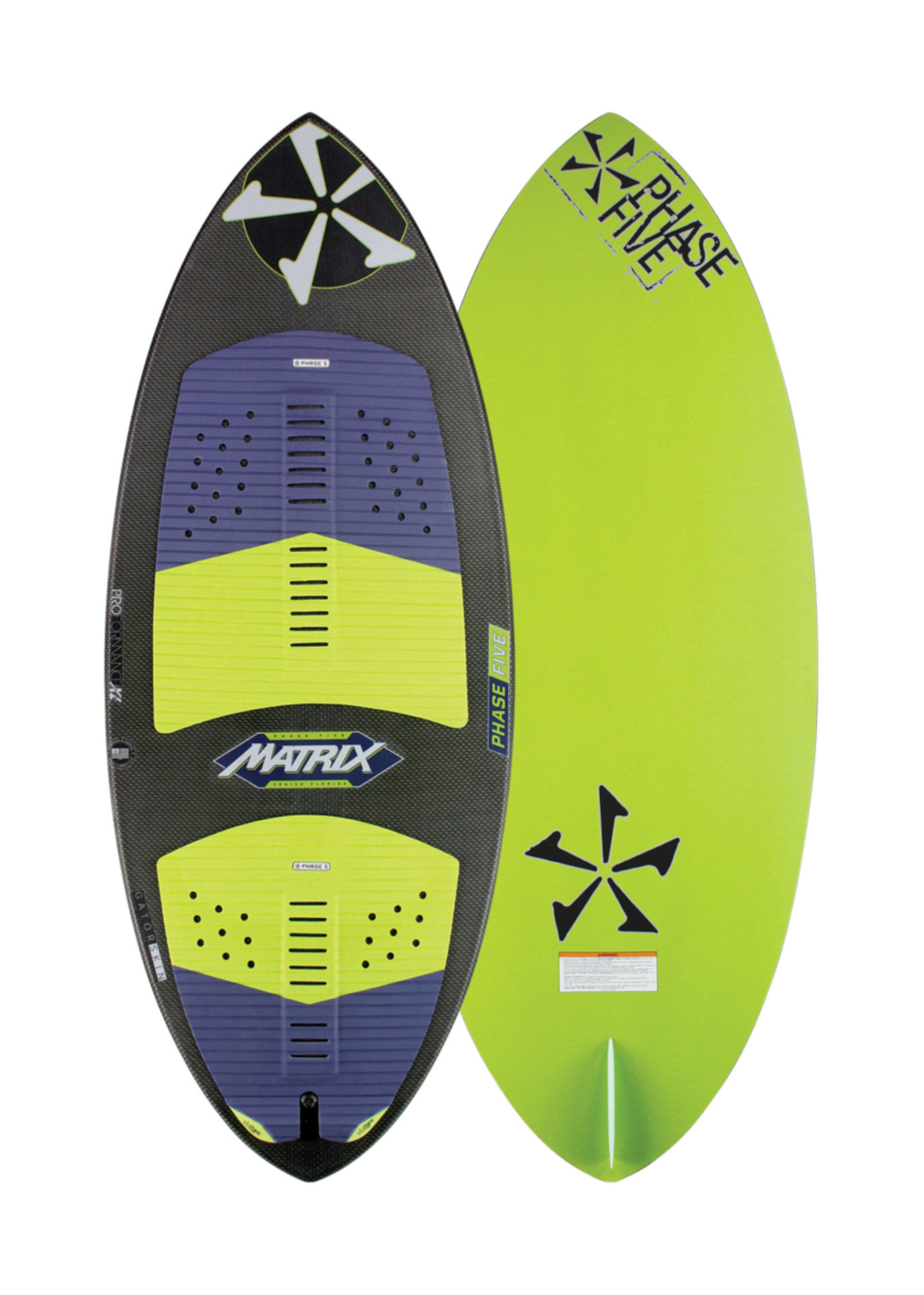 "Phase Five Phase Five Matrix 56"" Skim-Style Wakesurf"