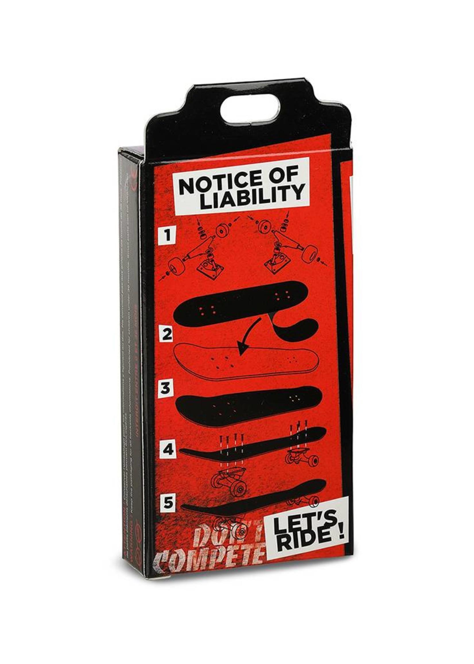 Close Up Fingerboards Close Up Fingerboarding Is Not A Crime 34 mm Generation 5.1 Fingerboard Bausatz