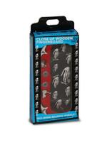 Close Up Fingerboards Mosaic Black