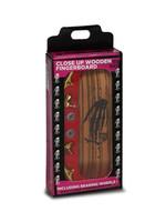 Close Up Fingerboards Skull Hand Zebra Wood