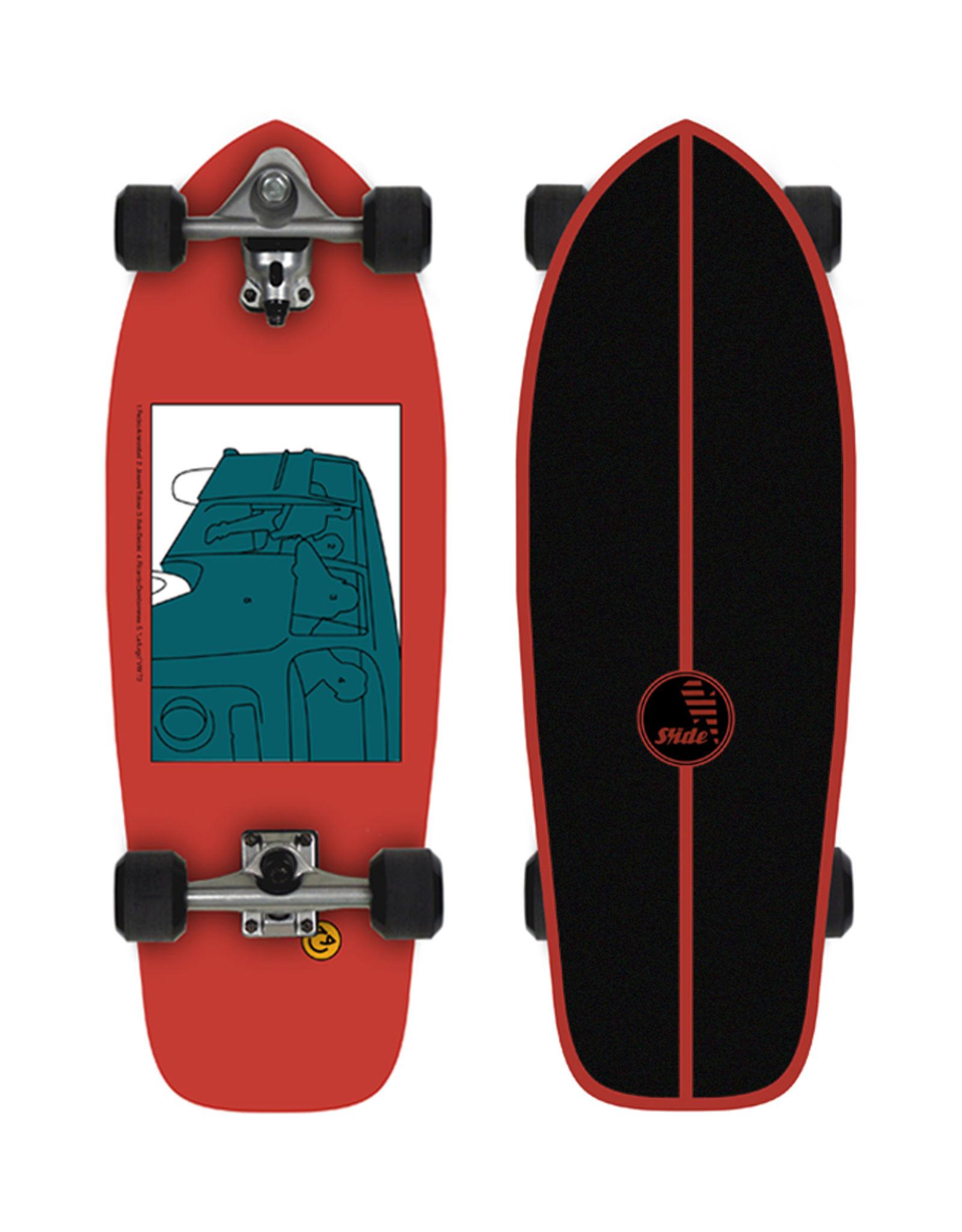 """Slide Surfskates Joy SK Heritage 30"""" Surfskate Complete"""