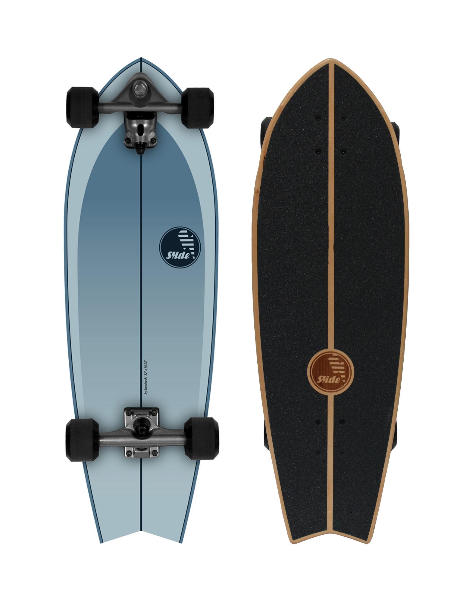 """Slide Surfskates Slide Fish Drifter 32"""" Surfskate Komplettbrett"""