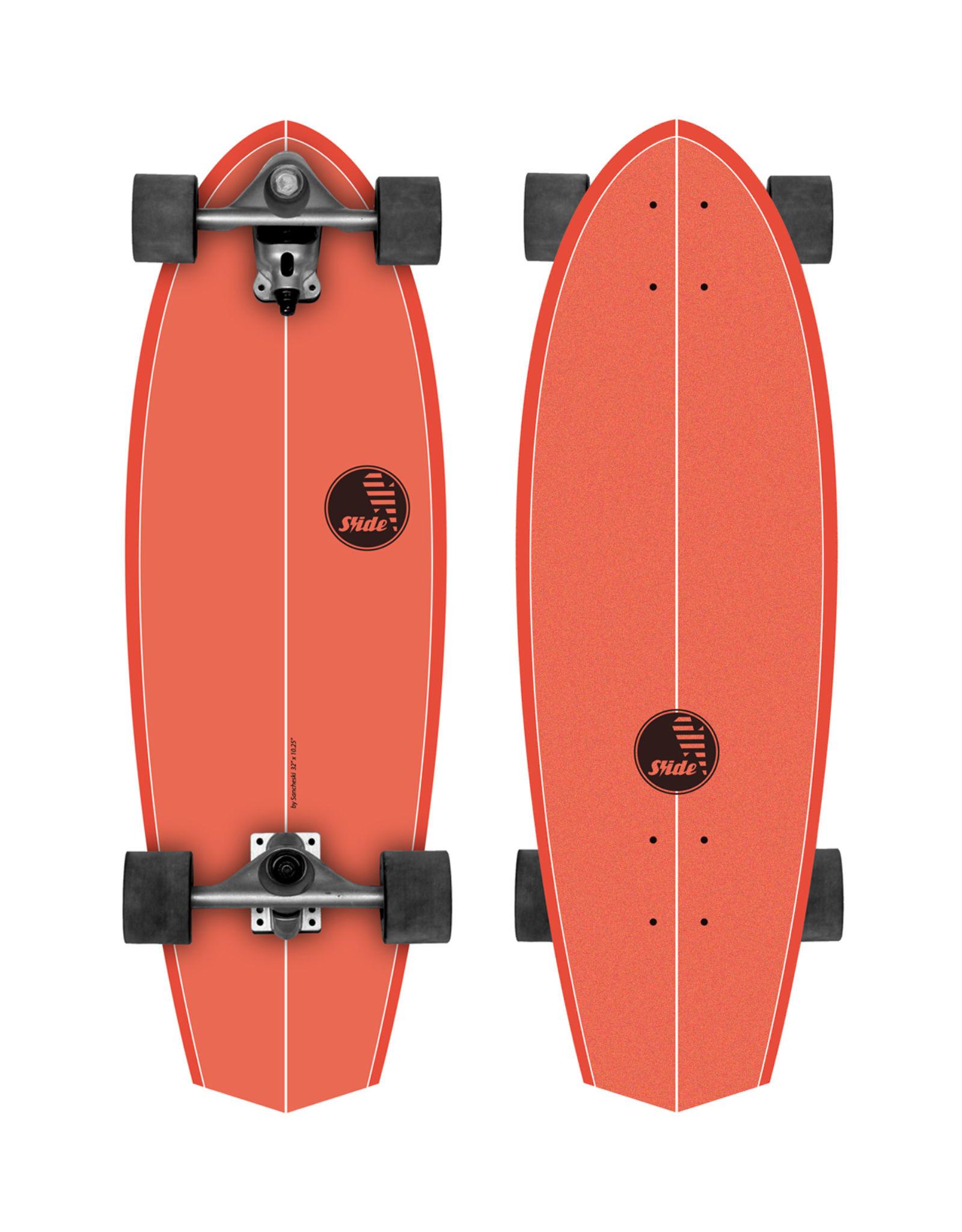 """Slide Surfskates Slide Diamond Kaena 32"""" Surfskate Komplettbrett"""