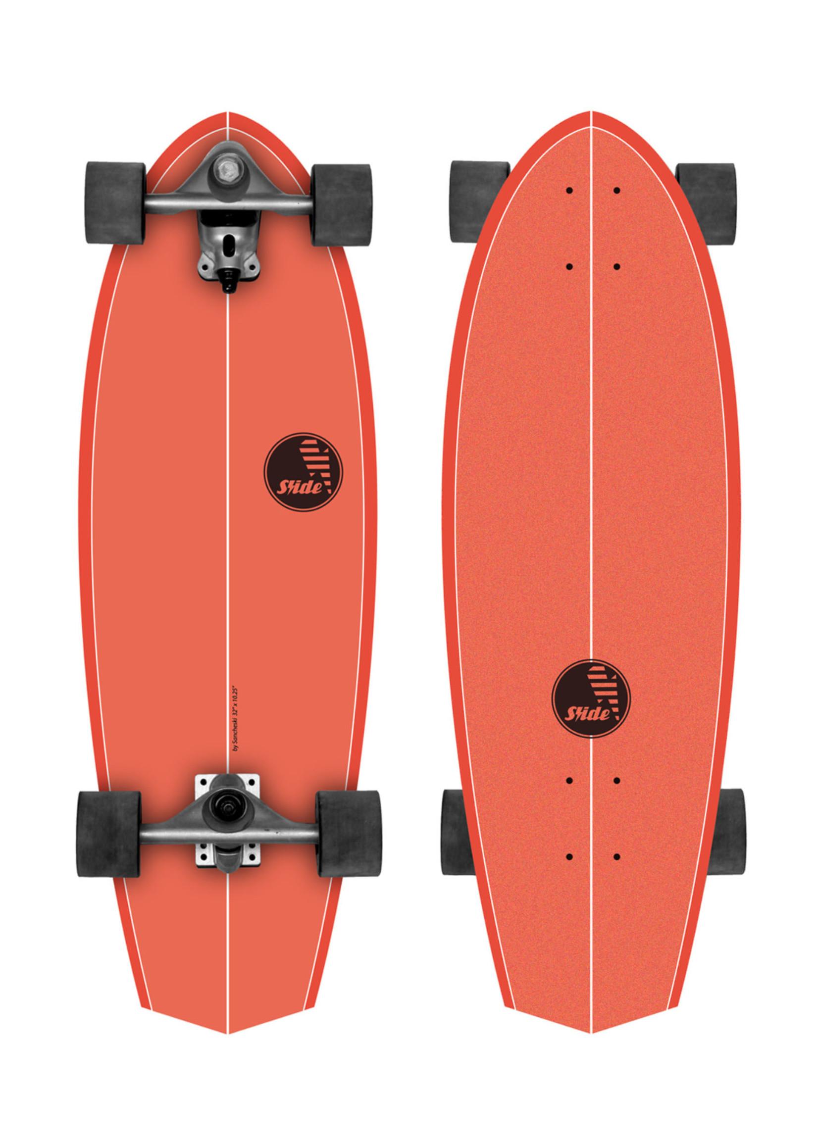 """Slide Surfskates Slide Diamond Kaena 32"""" Surfskate Complete"""