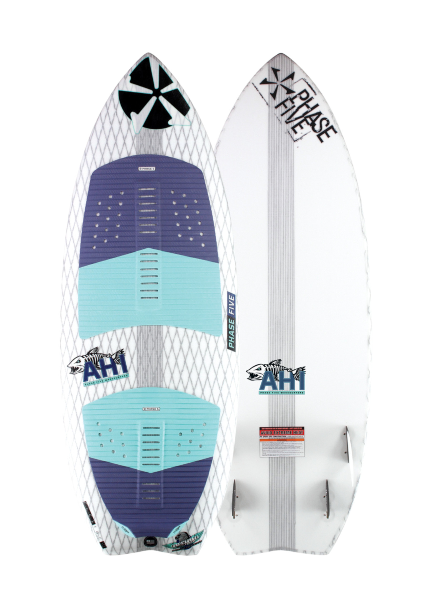 "Phase Five Phase Five Ahi 53"" Surf-Style Wakesurf"