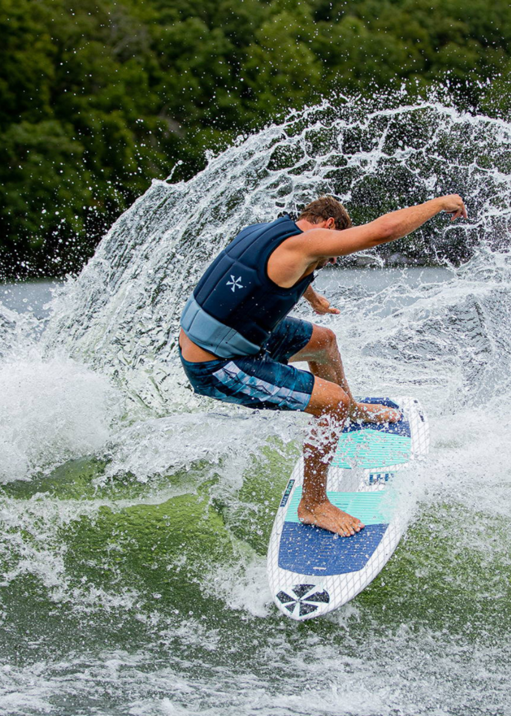 "Phase Five Phase Five Ahi 58"" Surf-Style Wakesurf"