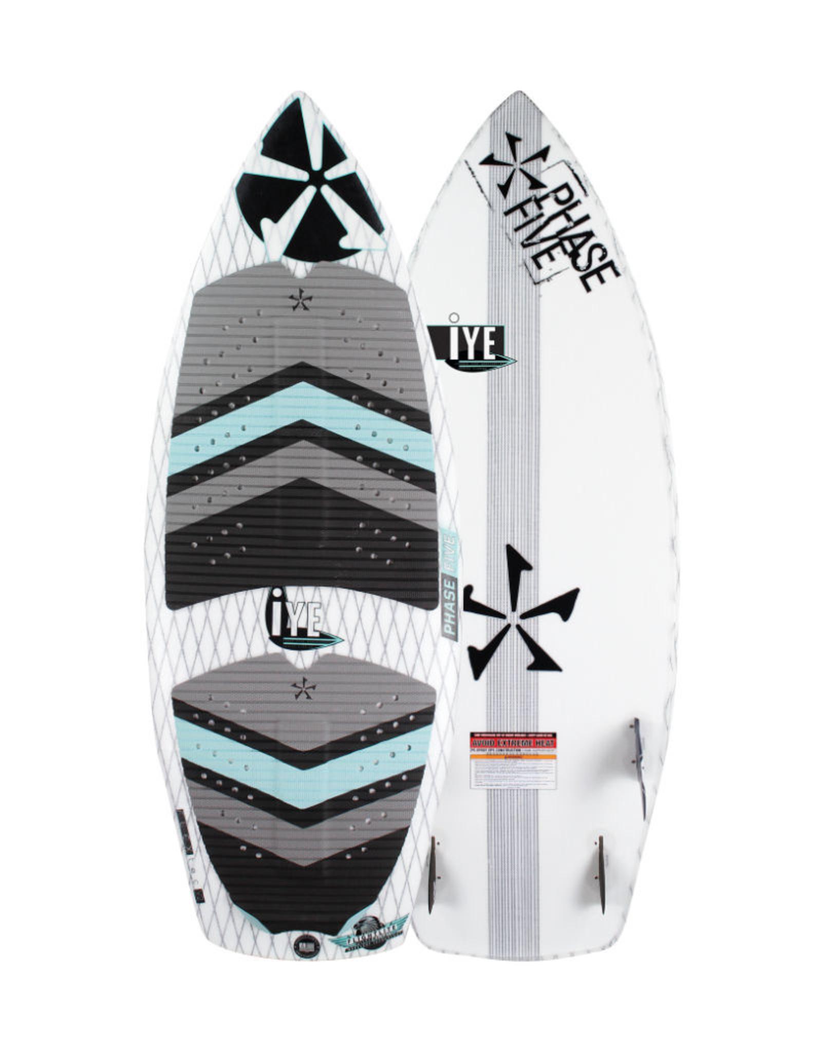 "Phase Five Phase Five Iye 49"" Youth Surf Style Wakesurf Demo Board"