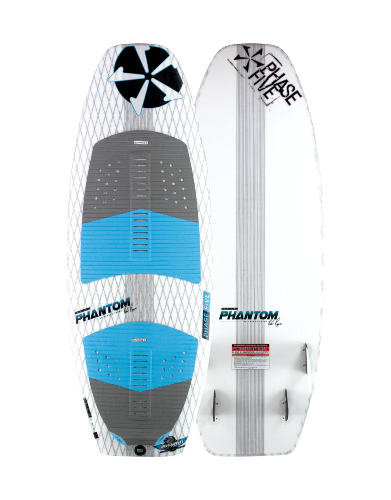 """Phase Five Phase Five Phantom 57"""" Surf-Style Wakesurf"""