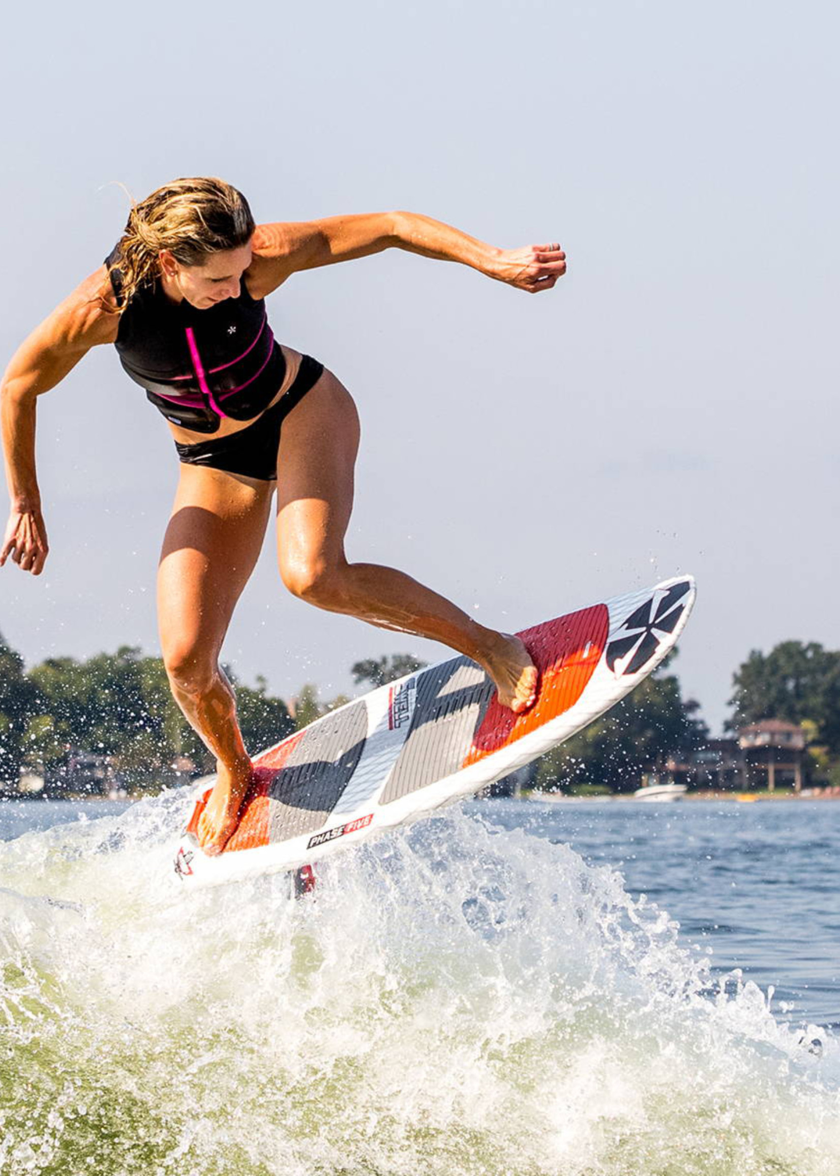 """Phase Five Phase Five Swell 55"""" Surf-Style Wakesurf"""