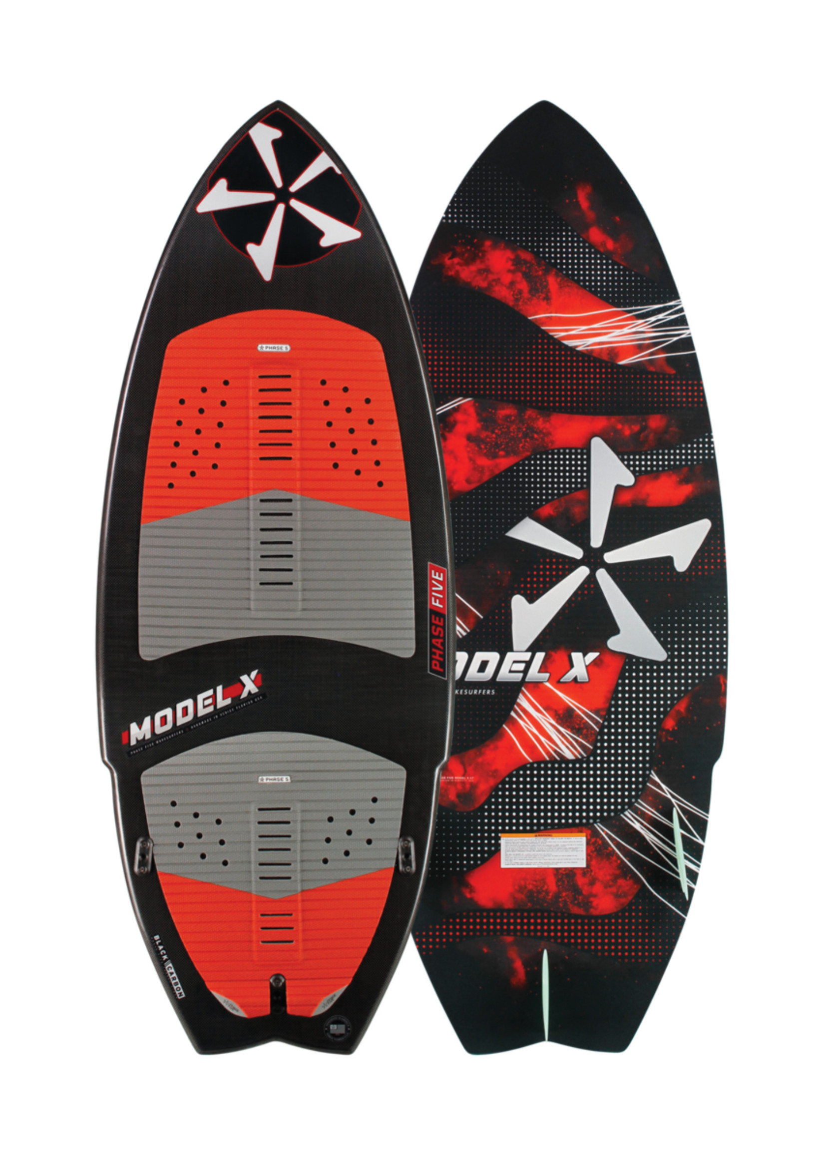 "Phase Five Phase Five Model X 53"" Skim-Style Wakesurf"