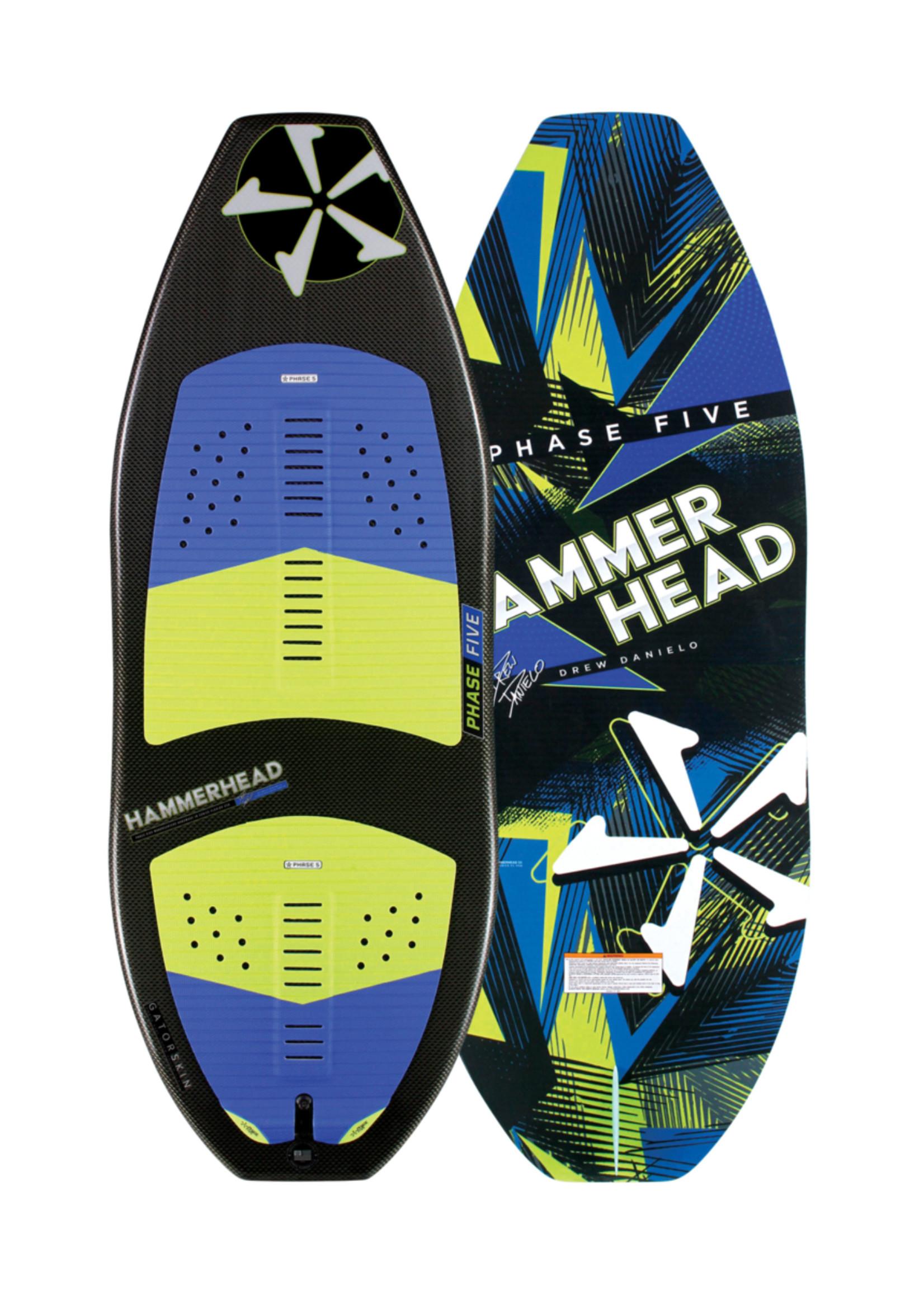"Phase Five Phase Five Hammerhead 53"" Skim-Style Wakesurf"