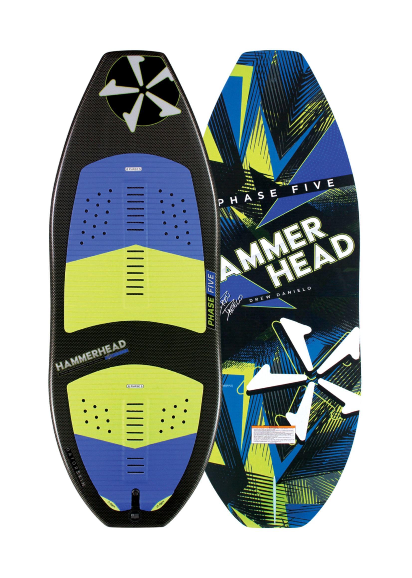 "Phase Five Phase Five Hammerhead 55"" Skim-Style Wakesurf"