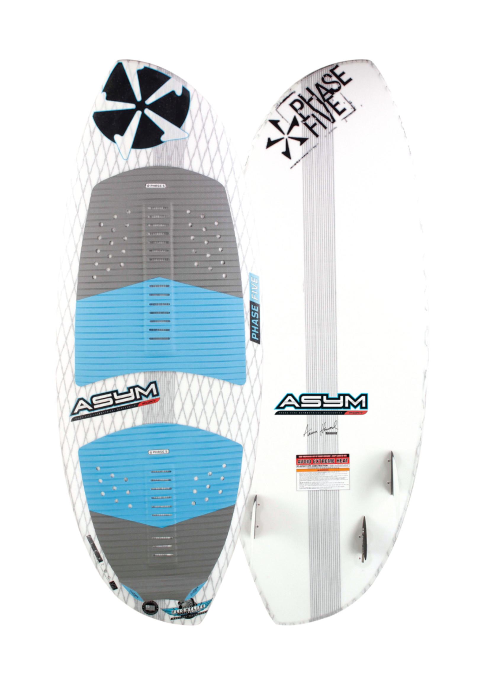 """Phase Five Phase Five Asym Port 55"""" Surf-Style Wakesurf für Surfen auf der Backbordseite"""