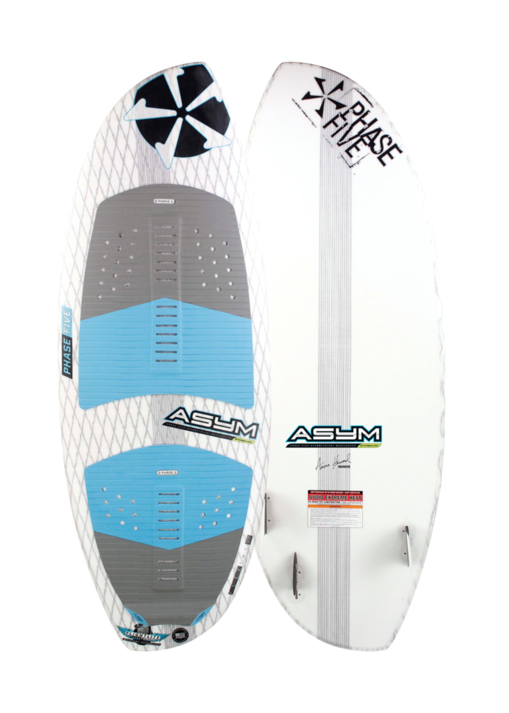 """Phase Five Phase Five Asym Starboard 55"""" Surf-Style Wakesurf für das Surfen auf der Steuerbordseite"""