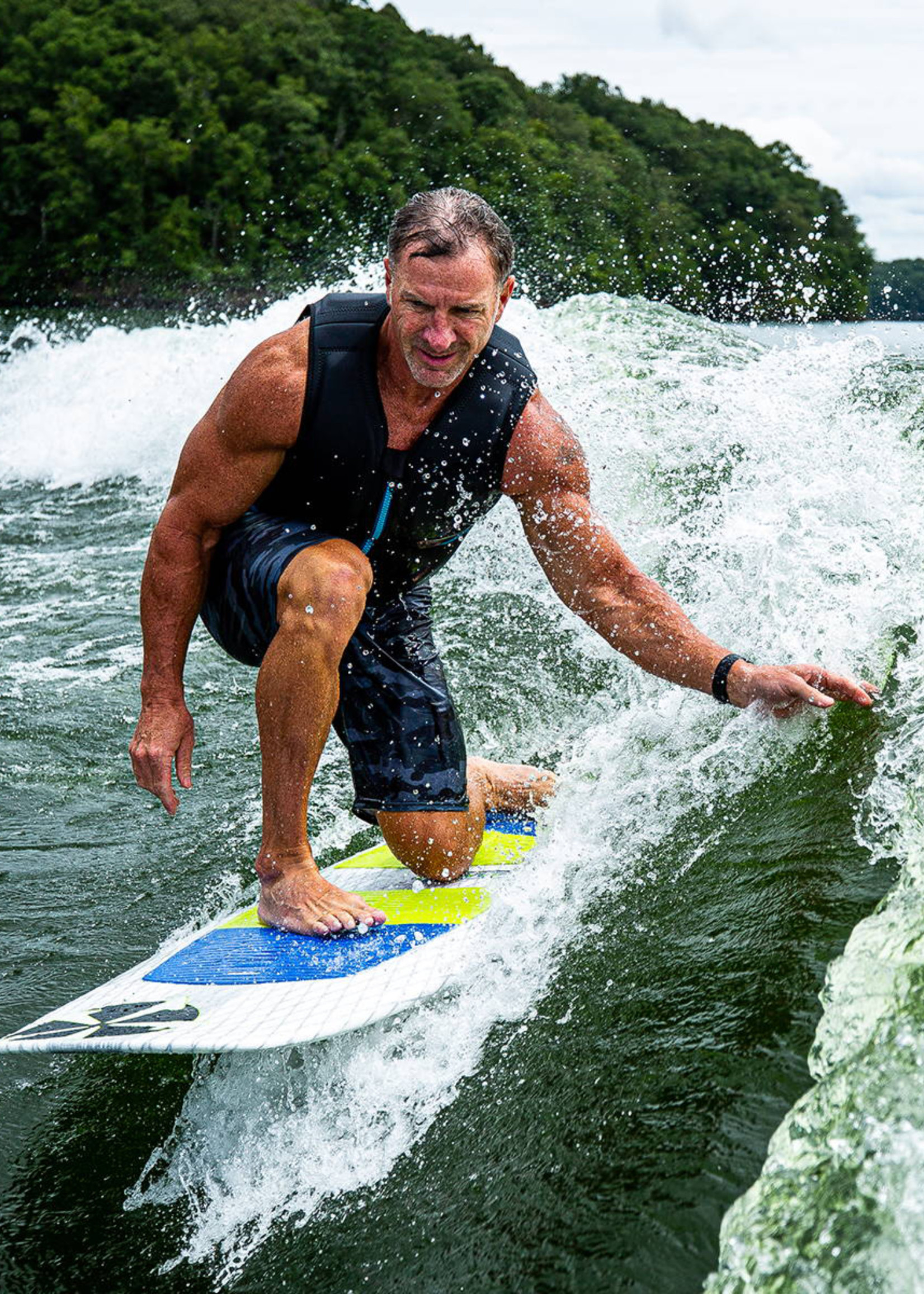 """Phase Five Phase Five Doctor 55"""" Surf-Style Wakesurf"""
